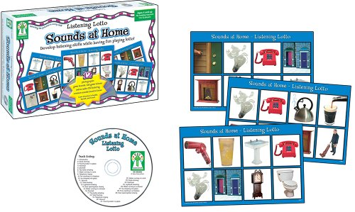 Key Education Listening Lotto: Sounds at Home Educational Board Game (Education Board Games compare prices)