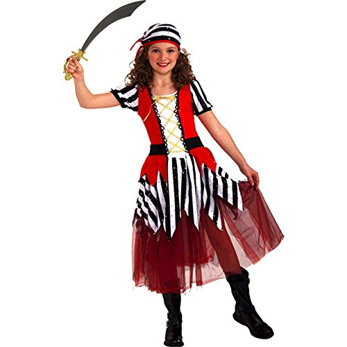 Playful Pirates High Seas Sweetheart Child Costume, Small