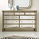 Hooker Furniture Melange 9-Drawer Montage Mirrored Dresser