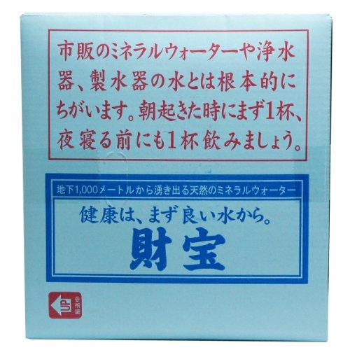 (株)財宝 財宝温泉 20L×3箱 バックインボックス