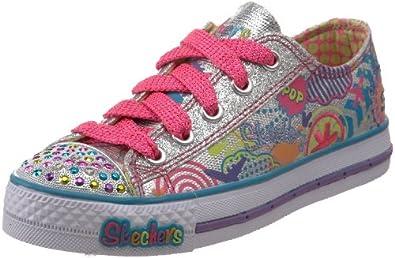 Skechers Kids Shoes Transparent Pink