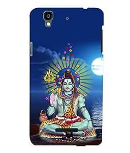printtech Lord God Om Namah Shivaya Back Case Cover for YU Yureka Plus :: Micromax Yureka AO5510