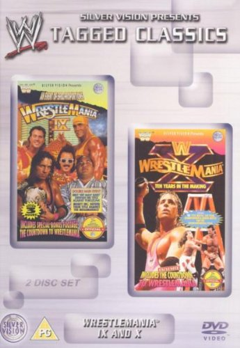 WWE - Wrestlemania 9 And 10 [DVD]