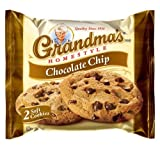 Grandma's Chocolate Chip Cookies - 33 Pks - Total 66 Cookies