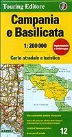 Campania / Basilicata 12 tci (r) wp (Regional Road Map)