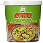 Mae Ploy Thai Green Curry Paste - 14...