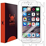 "Skinomi® TechSkin - Apple iPhone 6 Screen Protector 4.7"" + Full Body Skin Protector with Free Lifetime Replacement Warranty / Front & Back Premium HD Clear Film / Ultra High Definition Invisible and Anti-Bubble Crystal Shield - Retail Packaging"