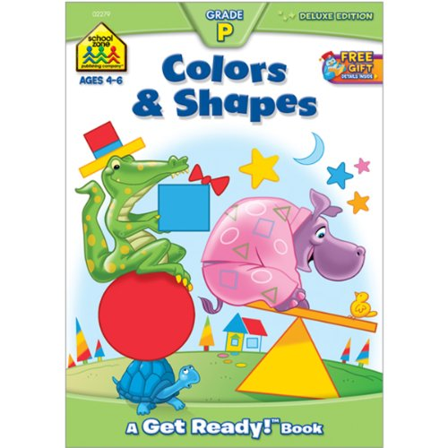 Workbooks-Colors and Shapes Grade P - 1