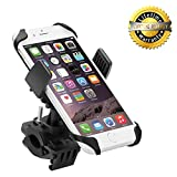 Motorcycle Phone Mount, Levin Universal Smartphone Bike Mount Holder with 360 dgree Rotate for iPhone 6s /6 /5s /5c/5,Samsung Galaxy S5/S4/S3, Google Nexus 5/4, LG G3, HTC and GPS Device