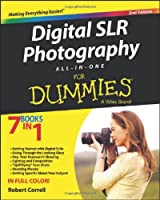 Digital SLR Photography All-in-One For Dummies, 2nd Edition Front Cover