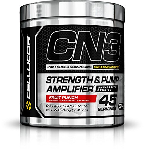 Cellucor CN3 Strength and Pump Amplifier, Fruit Punch, 7.93 Ounce (Mass Peak Protein Powder compare prices)