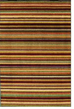 "5'0"" x 7'6"" Shaw Rugs Modern Elements Taylor 05440 - Multi Rectangular"
