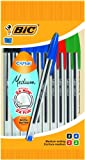 Bic Cristal Medium Ball Pen - Multicoloured (Pack of 10)