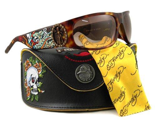 Ed Hardy Ehs 044 Color Tortoise Sunglasses
