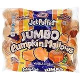 Kraft Jet-puffed Jumbo Pumpkin Marshmallow 2 Packs @ 24 Oz Each