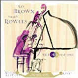 echange, troc Ray Brown - The Duo Sessions
