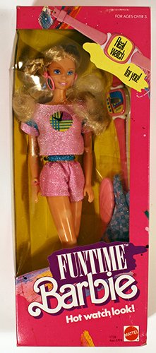 Funtime Barbie Hot Watch Look 3718