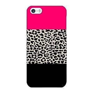 Jugaaduu Leopard Pattern Back Cover Case For Apple iPhone 5