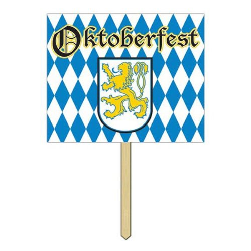 Oktoberfest Yard Sign Party Accessory (1 count)