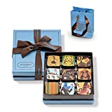 [冷蔵便発送] マリベル チョコレート シグネチャー アート ガナッシュ 9個入り ブルーボックス リボンラッピング ショップバッグ付