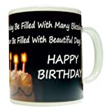 General Quote Gift Mug For Birthday with Beautiful Day