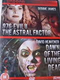 976 EVIL II THE ASTRAL FACTOR / DAWN OF THE LIVING DEAD DOUBLE BILL