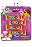 12 Piece Dora the Explorer Mini Harmonicas; Party Favors