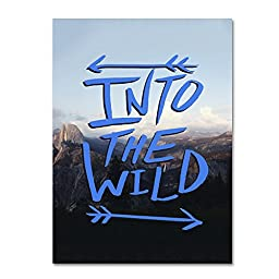 Trademark Fine Art Into the Wild, Yosemite Wall Decor by Leah Flores, 14\