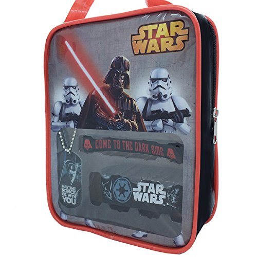 Star Wars Bag With Accessory Set - Featuring Darth Vader