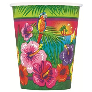 hawaiian luau party decorations uk