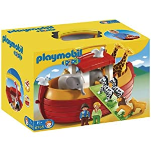 Amazon.com: My Take Along 1.2.3 Noah's Ark by Playmobil: Toys & Games
