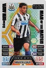 Match Attax 2013/2014 Hatem Ben Arfa Newcastle United 13/14 Man Of The Match