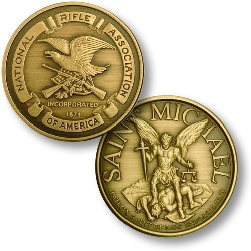 NRA Seal - St. Michael - Bronze Antique