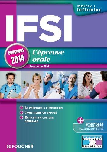 IFSI L'épreuve orale