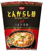 日清のとんがらし麺 うま辛海鮮