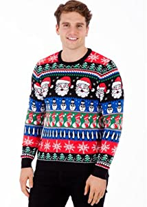 Christmas Sparkle - Mens Christmas Sweater by British Christmas Jumpers