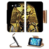 Gold Egypt Pharaoh Coffin Sarcophagus Samsung Galaxy S3 I9300 Flip Cover Case With Card Holder Customized Made To Order Support Ready Premium Deluxe Pu Leather 5 Inch (132mm) X 2 11/16 Inch (68mm) X 9/16 Inch (14mm) Liil S Iii S 3 Professional Cases Accessories Open Camera Headphone Port I9300 Lcd Graphic Background Covers Designed Model Folio Sleeve Hd Template Designed Wallpaper Photo Jacket Protector Micro Sd Wireless Cellphone Cell Phone
