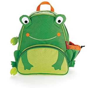 Skip Hop Zoo Pack Little Kid Backpack, Frog