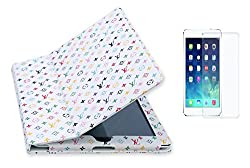 BMS Flip Book Case Cover For Ipad 3 with Sceen Guard Combo set