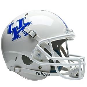 NCAA Kentucky Wildcats Replica XP Helmet - Alternate 1 (White) by Schutt