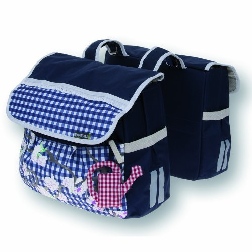 Basil Womens BAS17386 Double Bike Bag - Blue