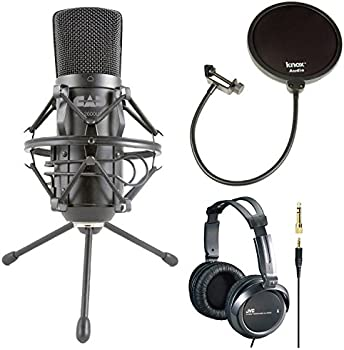 Cad U37 USB Condenser Microphone Bundle