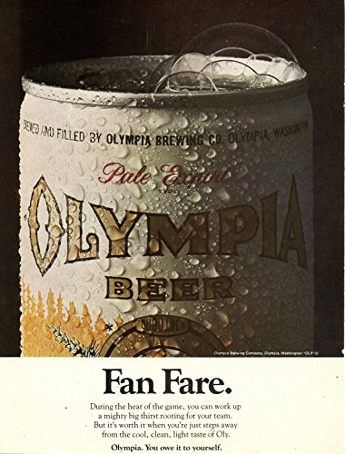 olympia-beer-vintage-magazine-ad-fan-fare