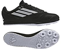 ADIDAS Arriba 3 Junior Running Spikes, Black/White, US4