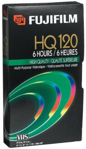 Best Prices! Fuji 23021121 HQ T-120 VHS Video Cassette (Discontinued by Manufacturer)