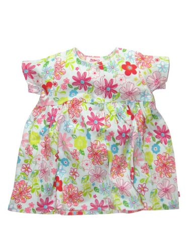 Flower Show Short Sleeve Dress by Zutano - Buy Flower Show Short Sleeve Dress by Zutano - Purchase Flower Show Short Sleeve Dress by Zutano (Zutano, Zutano Apparel, Zutano Toddler Girls Apparel, Apparel, Departments, Kids & Baby, Infants & Toddlers, Girls, Skirts, Dresses & Jumpers, Dresses)