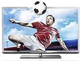 Philips 55PFL5507K/12 139 cm (55 Zoll) 3D LED-Backlight-Fernseher, EEK A++ (Full-HD, 400Hz PMR, DVB-C/-T/-S2, CI+, Smart TV Plus, WiFi, USB Recording) silber schwarz gebürstet