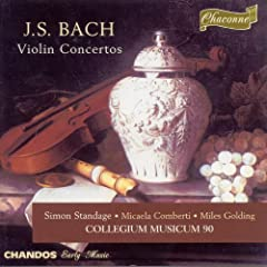 Bach, J.S.: Violin Concertos, Bwv 1041-1043 / Concerto for 3 Violins, Bwv 1064