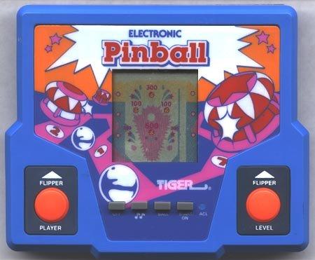 Vintage Electronic Pinball Handheld Game (1987) - 1