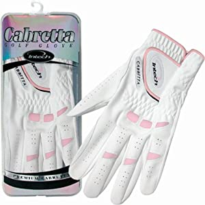Intech Ti-Cabretta Ladies' Glove, Left-Hand, Medium (6 Pack)